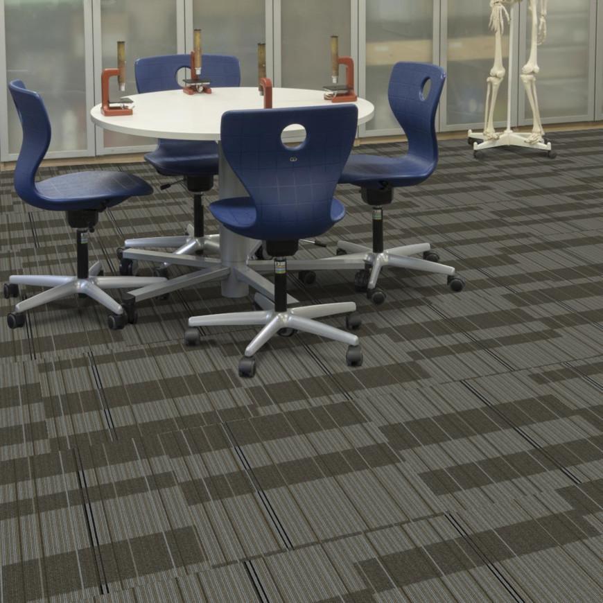 "Tandus Centiva Street Life Open Air Carpet Tile 24"" x 24"" Builder(60 sq ft/ctn)"