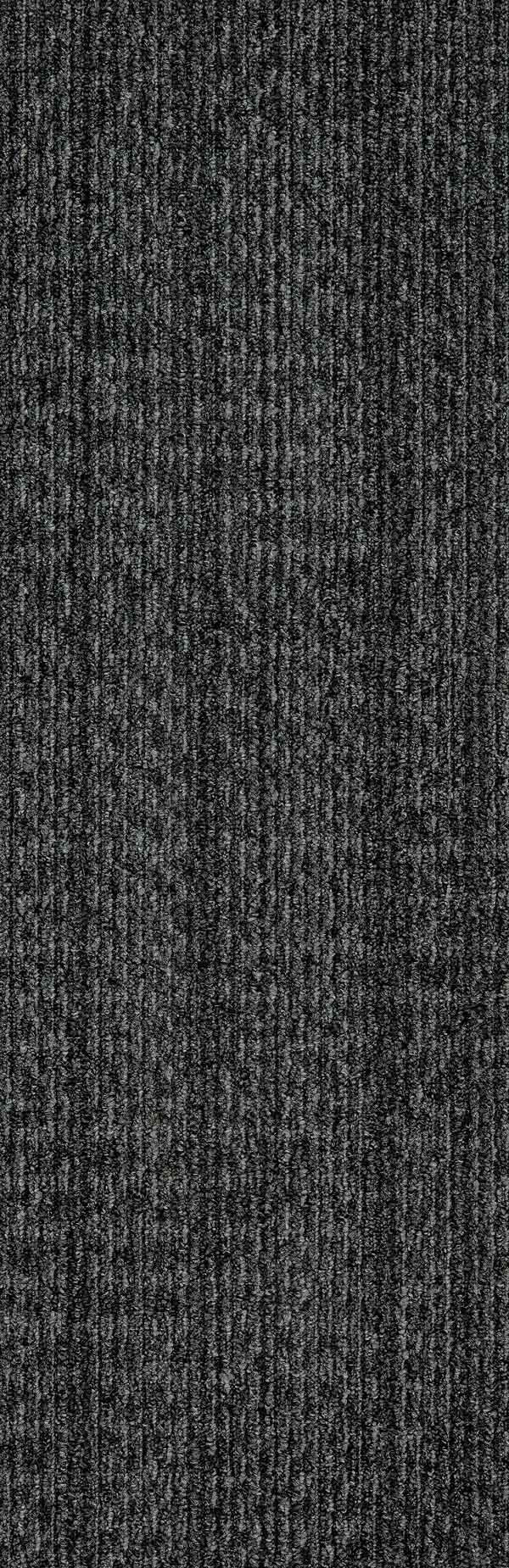 "Mohawk Group Hidden Dimension Carpet Tile Metal Grey 12"" x 36"""
