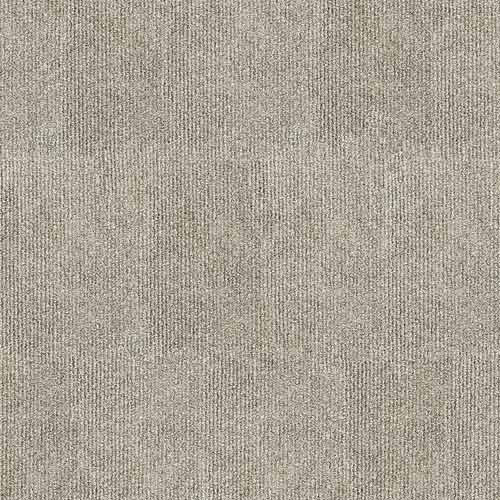 "Infinity Riverside Rib Peel & Stick Carpet Tile Ivory 18"" x 18"" Premium(36 sq ft/ctn)"