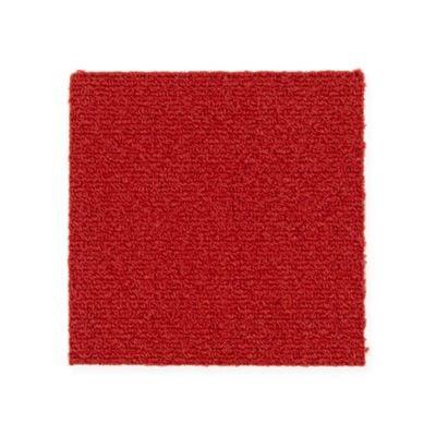 """Aladdin Commercial Color Pop Carpet Tile Tango 12"""" x 36"""" Premium"""