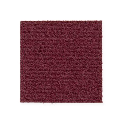 """Aladdin Commercial Color Pop Carpet Tile Mulled Wine 12"""" x 36"""" Premium"""