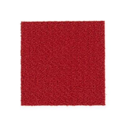 """Aladdin Commercial Color Pop Carpet Tile Scarlet 24"""" x 24"""" Premium"""