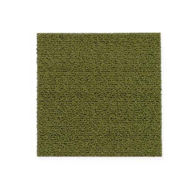 """Aladdin Commercial Color Pop Carpet Tile Zucchini 12"""" x 36"""" Premium"""