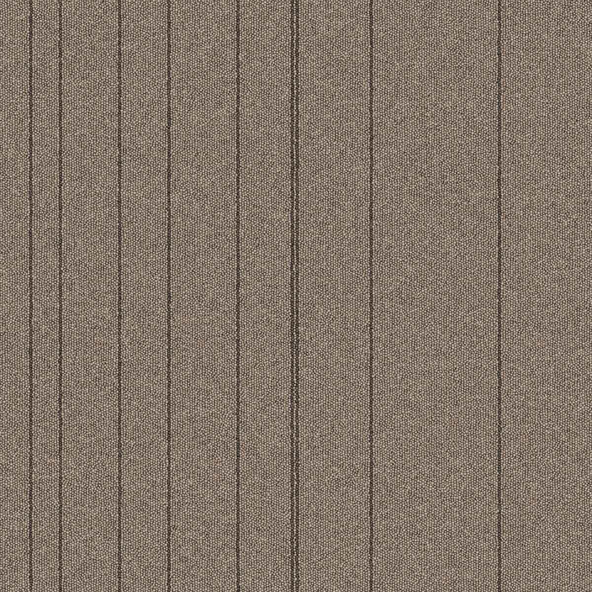 "Mohawk Group Mindful Stripe Carpet Tile Praline 24"" x 24"""