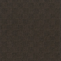 "Infinity Crochet Accent Rib Peel & Stick Carpet Tile Mocha 24"" x 24"" Premium (60 sq ft/ctn)"