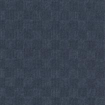 "Infinity Crochet Accent Rib Peel & Stick Carpet Tile Denim 24"" x 24"" Premium (60 sq ft/ctn)"