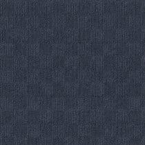 "Infinity Crochet Accent Rib Peel & Stick Carpet Tile Ocean Blue 24"" x 24"" Premium (60 sq ft/ctn)"