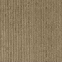 "Infinity Cutting Edge High Low Rib Peel & Stick Carpet Tile Chestnut 24"" x 24"" Premium (60 sq ft/ctn)"