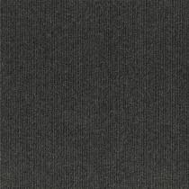 "Infinity Roanoke Rib Peel & Stick Carpet Tile Black Ice 18"" x 18"" Premium(22.5 sq ft/ctn)"