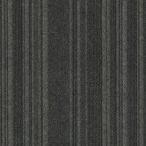 "Infinity Couture Barcode Rib Peel & Stick Carpet Tile Black Ice 24"" x 24"" Premium (60 sq ft/ctn)"