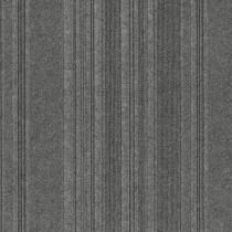 "Infinity Couture Barcode Rib Peel & Stick Carpet Tile Sky Grey 24"" x 24"" Premium (60 sq ft/ctn)"