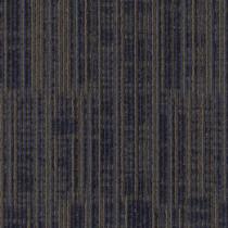 "Aladdin Commercial Get Moving Carpet Tile Indigo Batik 24"" x 24"" Premium"
