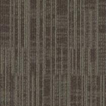 "Aladdin Commercial Get Moving Carpet Tile Timber Bark 24"" x 24"" Premium"