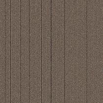"Aladdin Commercial Rule Breaker Stripe Carpet Tile Praline 24"" x 24"" Premium"