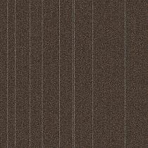 """Aladdin Commercial Rule Breaker Stripe Carpet Tile Hickory 24"""" x 24"""" Premium"""