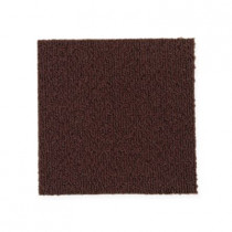 """Aladdin Commercial Color Pop Carpet Tile Aubergine 24"""" x 24"""" Premium"""