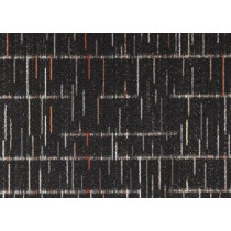 """Aladdin Commercial Amity Carpet Tile Black Velvet 24"""" x 24"""" Premium"""