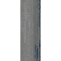 "Mohawk Group Disruptive Path Carpet Tile Blue Dusk 12"" x 36"""