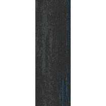 "Mohawk Group Disruptive Path Carpet Tile Cosmic Sky 12"" x 36"""