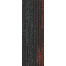 "Mohawk Group Disruptive Path Carpet Tile Crimson Flash 12"" x 36"""