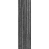 "Shaw Value Carpet Tile Grey Charcoal 9"" x 36"" Builder(45 sq ft/ctn)"