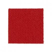 """Aladdin Commercial Color Pop Carpet Tile Tango 24"""" x 24"""" Premium"""