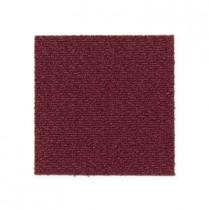 """Aladdin Commercial Color Pop Carpet Tile Mulled Wine 24"""" x 24"""" Premium"""