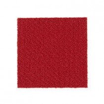 "Aladdin Commercial Color Pop Carpet Tile Scarlet 12"" x 36"" Premium"