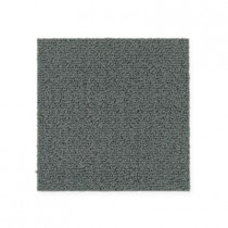 "Aladdin Commercial Color Pop Carpet Tile Hazy 12"" x 36"" Premium"