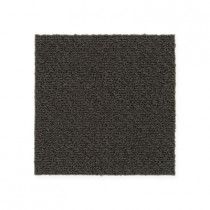 "Aladdin Commercial Color Pop Carpet Tile Peppercorn 12"" x 36"" Premium"
