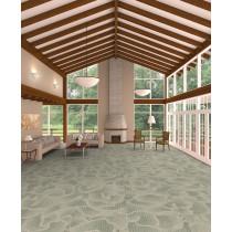 Shaw Botan Carpet Tile Pond Lobby Scene