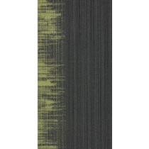 Shaw Horizontal Edge Tile Brite Green Fringe