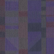 Shaw Impact Carpet Tile Purple