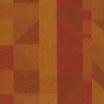 """Shaw Impact Carpet Tile Orange 24"""" x 24"""" Premium"""