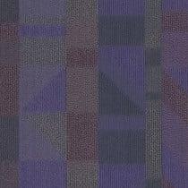 "Shaw Impact Carpet Tile Purple 24"" x 24"" Premium"