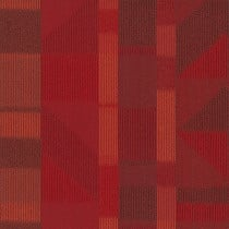 "Shaw Impact Carpet Tile Red 24"" x 24"" Premium"