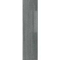 """Shaw Value Carpet Tile Silver Charcoal 9"""" x 36"""" Builder(45 sq ft/ctn)"""