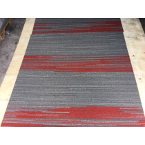 "Shaw Vertical Edge Carpet Tile Strawberry 18"" x 36"" Premium(45 sq ft/ctn)"