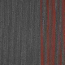 """Shaw Folded Edge Carpet Tile Sundried Flint 18"""" x 36"""" Builder(45 sq ft/ctn)"""