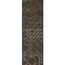 "Mohawk Group Angled Perception Carpet Tile Warm Neutral 12"" x 36"""