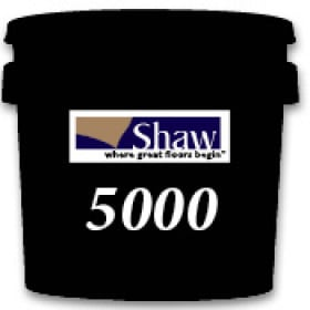 Shaw Carpet Tile Pressure Sensitive D5000 Adhesive 4 Gallon