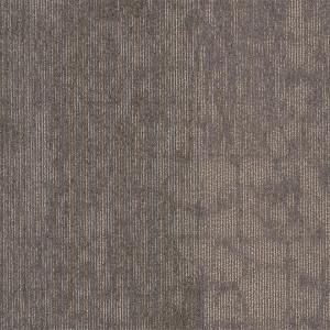 "Shaw Structure Carpet Tile Mirror Grey 24"" x 24"" Premium(80 sq ft/ctn)"